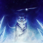 White Tiger Owl Art Creative Graphics Thesecurewalls