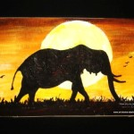 Wildlife Painting Art For Sale Buy Original Elephant