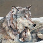 Wildlife Paintings Laverne And Yvette Hill Well Student