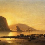 William Bradford Paintings Sunrise Cove Painting