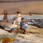 Winslow Homer Ren The Beach Painting