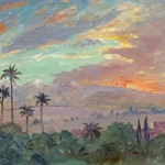 Winston Churchill Painted This Moroccan Landscape Sunset Over The