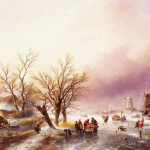 Winter Landscapespohler Jan Jacob Coenraadpainting Reproductions