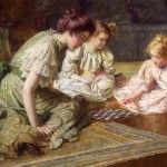Wordless Wednesday The Art Mary Cassatt Mother Nine