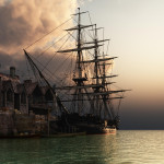 You Are Viewing The Art Named Amazing Sailing Ship