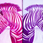 Zebra Popart Pop Art Paintings Flickr Sharing