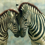 Zebra Young Painting Wikimedia Commons