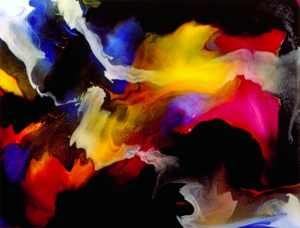 Abstract Art Canvas Under The Latest Painting