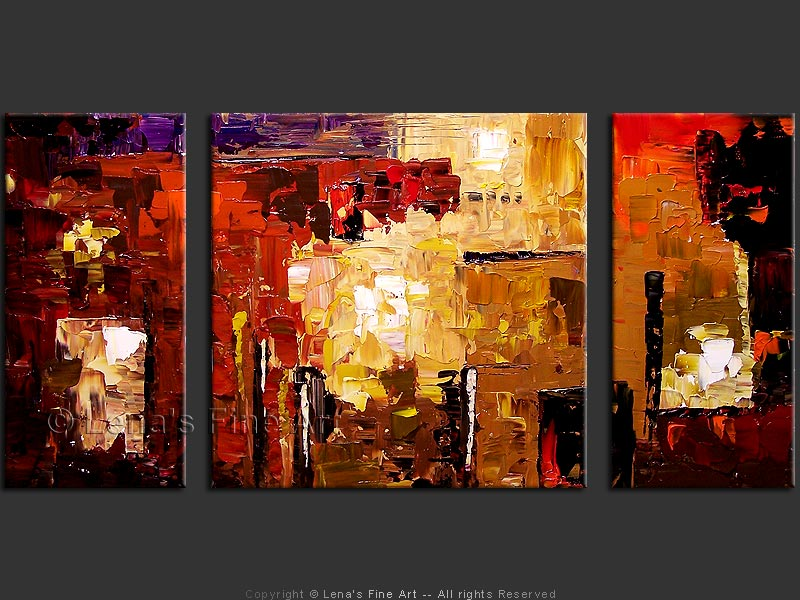 Abstract Art Nonobjective Painting Metamorphoses