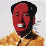 Andy Warhol Paintings Mao Red Painting