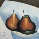 Art Georgia Keeffe Two Pears Paintings For Sale Online From