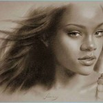 Art Painting Graphy Drawings Famouse Woman Portraits Drawn