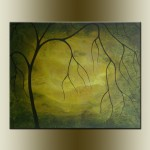 Browse For Sale Original Abstract Painting Tree Acrylic Canvas