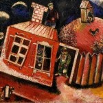 Chagall Marc Red House
