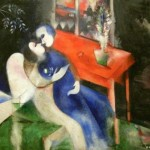 Chagall Marc The Lovers