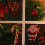 Challenge Myself Find Four Images Our Christmas Tree Paint