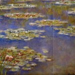 Claude Monet Paintings Water Lilies Painting