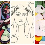 Collage Picasso Artworks Sketch Paintings Woman Blonde