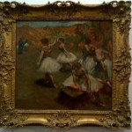 Edgar Degas Dancers Stage Another Very Famous Artist And Painting