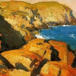 Edward Hopper Paintings Blackhead Monhegan Painting