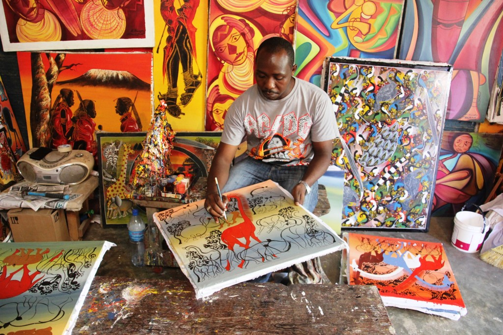 Famous African Art Paintings