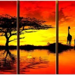 Famous African Paintings Beautiful Original Hand Painted Artwork