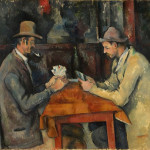 Famous Paintings Cezanne Card Players
