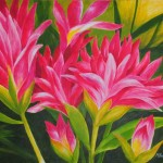 Flowers And Plants Gallery Art For Sale Flora Acrylic Painting