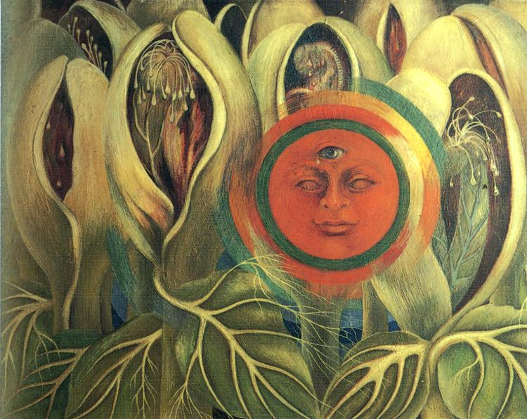 Frida Kahlo Sun And Life