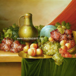 Fruit Oil Painting Famous Artist Bryant Chapin Www