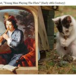 Funny Cats Imitate Famous Paintings