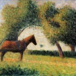 Georges Seurat Horse And Cart