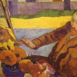 Gogh Painting Sunflowers Famous Art Work Drawing Paul Gauguin