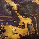 Hand Painted Oil Painting Reproduction Canvas The Robbers And