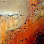 Handmade Contemporary Modern Abstract Oil Painting Canvas
