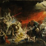 His Painting The Last Day Pompeii Karl Brullov Painted Her