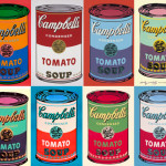 Historically Rediscovered Andy Warhol Silk Screened Paintings