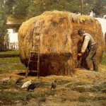 Home Famous Paintings Barnyard For Sale