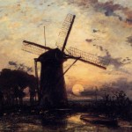 Home Famous Paintings Windmill For Sale