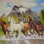 Home Horse Handmade Museum Quality Paintings
