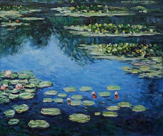 Home Paintings Claude Monet Water Lilies