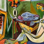 Home Paintings Pablo Picasso Muse