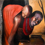 Keep Organized Have Put All The Sold Ndwiga Paintings Below