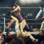 Lithograph George Bellows Masterpiece For Auction This