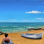 Many Beach Paintings Offer Calming Peaceful Views Over The And