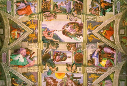Michelangelo Sistine Chapel Ceiling Part