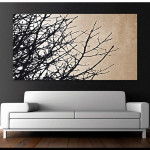 Modern Canvas Wall Art For Home Style Contemporary
