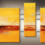 Modern Painting Abstract Panels Oil Paintings