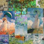 Monet Famous Paintings Claude Water Lilies Painting