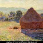 Monet Most Famous Paintings Sunlight Midday Claude Oscar
